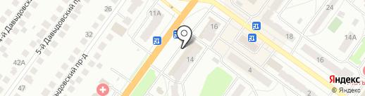 Времонте на карте Костромы