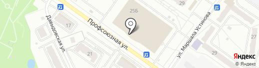 Лови момент на карте Костромы
