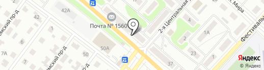 Фотостудия на карте Костромы
