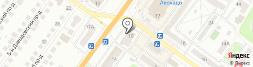 Сундучок на карте Костромы