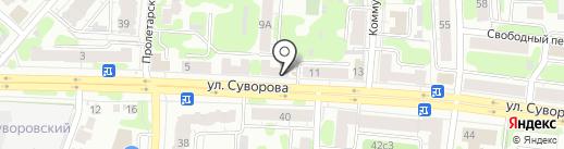 Мясной на карте Иваново