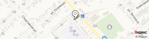 Сбербанк России на карте Новокубанска