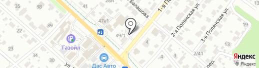 Дом Теплиц на карте Иваново
