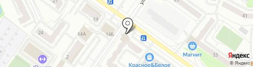 Дизайн-студия Натальи Буриковой на карте Костромы
