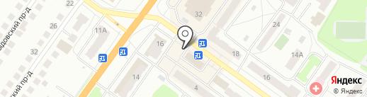 ЦветОПТ на карте Костромы