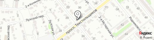 Мастерская по ремонту бытовой техники на карте Иваново