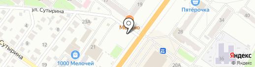 Киоск по продаже печатной продукции на карте Костромы