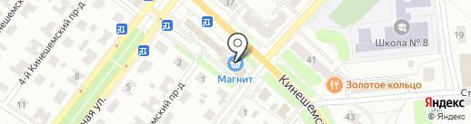 ДНС на карте Костромы