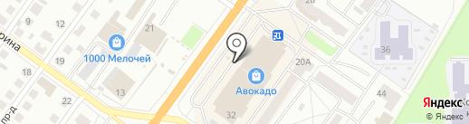 Зёрна на карте Костромы