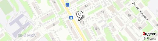 Сеть продовольственных магазинов на карте Иваново