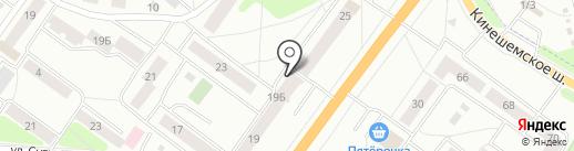 Магазин доступной моды на карте Костромы