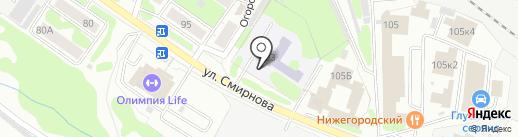 Средняя школа №53, МБОУ на карте Иваново