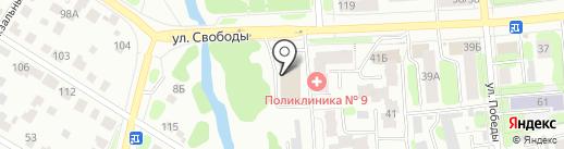 Кнопка на карте Иваново
