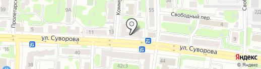 Модные колготки на карте Иваново