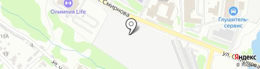 Федерация КУДО по Ивановской области на карте Иваново