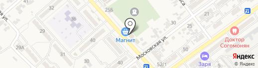 Магнит на карте Новокубанска