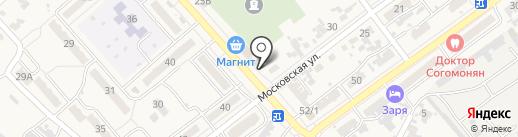 Ермолинские полуфабрикаты на карте Новокубанска