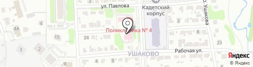 Поликлиника №4 на карте Иваново