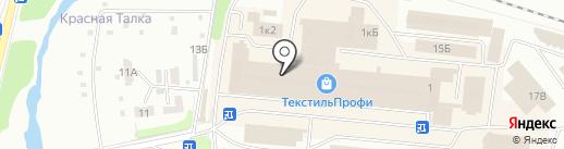 Торгово-производственная компания на карте Иваново