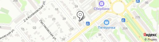 Колесо на карте Иваново