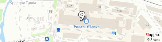 Нур-текс на карте Иваново