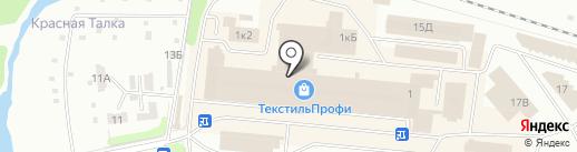 Текстильная линия на карте Иваново