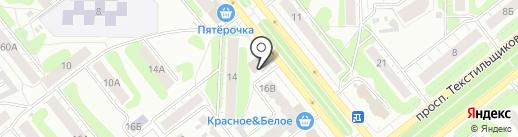 Магазин обуви на карте Иваново
