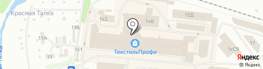 Амадэль на карте Иваново