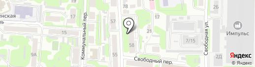 Национальная Транспортная Логистика на карте Иваново