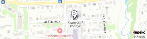 Иваново-Вознесенский Морской кадетский корпус им. адмирала Г. И. Невельского на карте Иваново