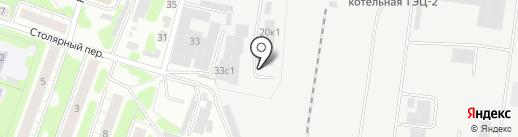 Бокс №1 на карте Иваново