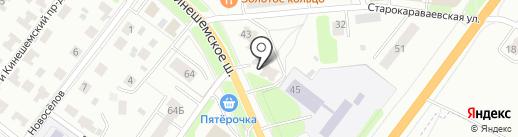 Эрудит на карте Костромы