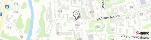 Постелька Биз на карте Иваново