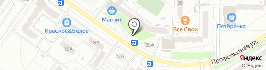 Киоск по ремонту обуви на карте Костромы