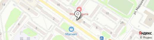 Банкомат, Сбербанк, ПАО на карте Костромы