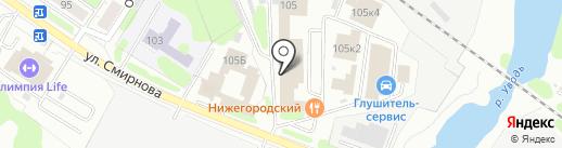 Домашний склад на карте Иваново