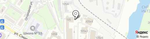 Шинмастер на карте Иваново