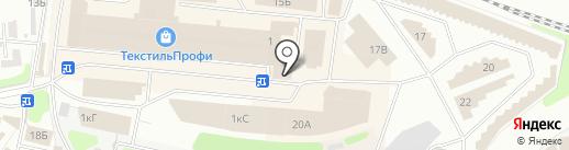 Веселый носочник на карте Иваново