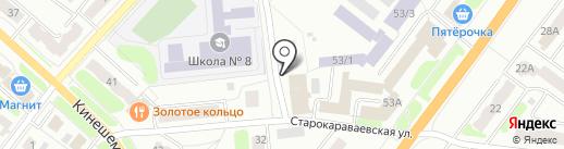 Пожарная часть №1 на карте Костромы