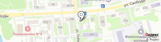 Сеть ювелирных мастерских на карте Иваново