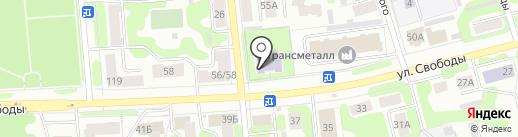 Детский сад №3 на карте Иваново