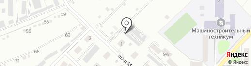 Гаражный кооператив №53 на карте Костромы