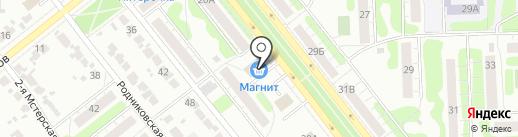 Котонай на карте Иваново