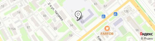 Средняя общеобразовательная школа №50, МБОУ на карте Иваново