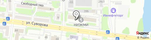ПолимерТекс на карте Иваново