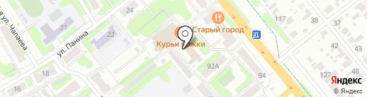 Восток на карте Иваново