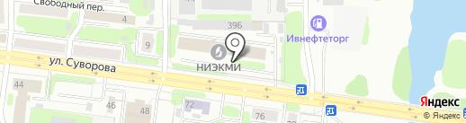 Цунами на карте Иваново