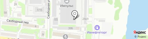 Экстратрейд на карте Иваново
