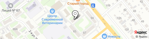 Усатый полосатый на карте Иваново