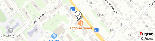 Копейка на карте Иваново